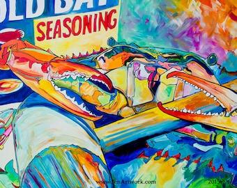 OB Pastel-Art by Jen Callahan Tile,Cuttingboard,Paper Print