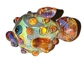 Lampwork Bead - Puffy Fish (007-001)