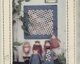 Country Threads--Ladies Aid #170--Quilt and Dolls Patterns