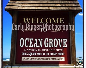 Shore: Ocean Grove Tile Coaster