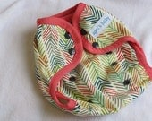 One size cloth diaper cover - Love Arrow