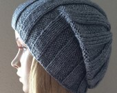 PDF Pattern, How To Knit A Ribbed Hat