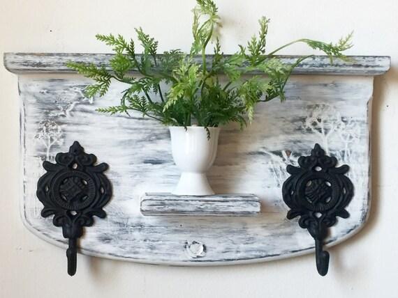 Key shelf key holder chic decor repurposed by papermemoirs for Mural key holder