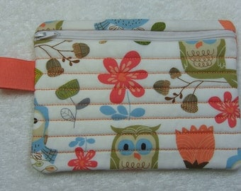 Zipper Case Pouch Jewelry Pouch Travel Pouch Ready to Ship