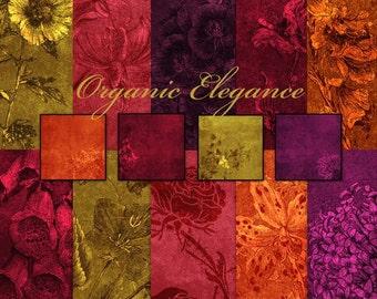 Organic Elegance Digital Papers