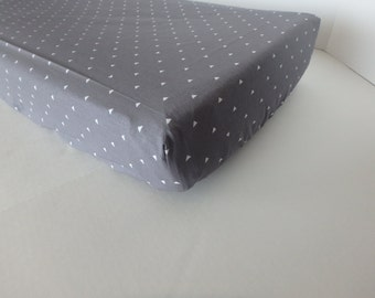 Gray Triangle Changing Pad Cover