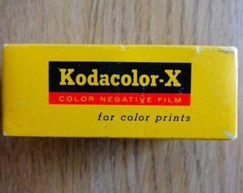 1 KODAK KODACOLOR X  120 Camera Film Lomo lomography Expired 1970 film