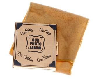 Retro Vintage Compact Mini Photo Album