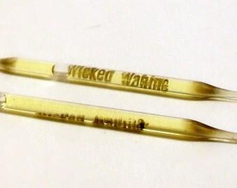 Vintage 1960s Wicked Wahine by Royal Hawaiian Perfume Co. Perfume Nip Sample Vial