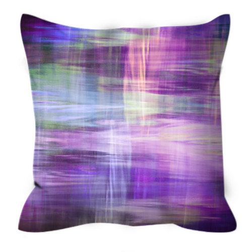 blurry vision 3 purple lavender yellow blue tartan plaid art. Black Bedroom Furniture Sets. Home Design Ideas