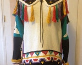 Shamanic sweater 100% cotton