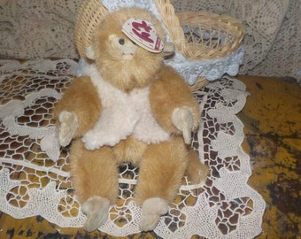 This is a 1993 Ty Beanie Baby Morgan the Monkey 6018