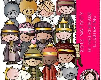 Nativity clip art 2012 edition