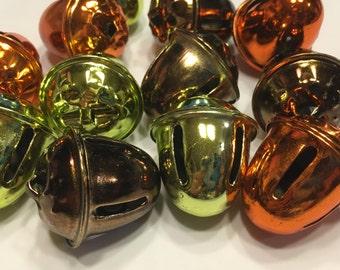 3 piece Acorn jingle bell mix, 30 x 35 mm (HR7)