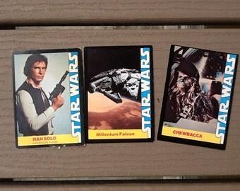 Vintage Star Wars Cards