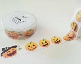 Jack O'Lantern Halloween Washi Tape