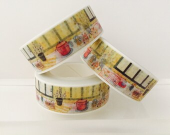 Kitchen Mason Jars Washi Tape By Goatgirlmh On Etsy