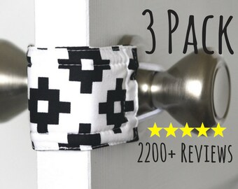 Sleepy Southwest (3 PACK) Door Latch Muffler, baby nursery, door stopper,home decor,baby shower gift, quiet nursery door, kids LATCHY CATCHY
