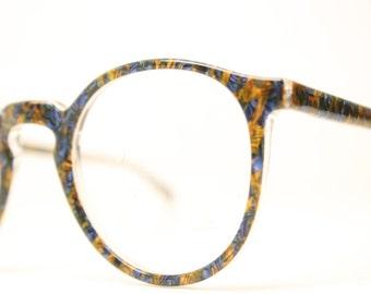 Beautiful Colorful Eyeglass Frames Unique P3 1980s Retro Eyeglasses