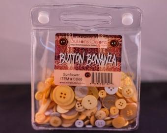 Buttons Bonanza Sunflower 8 oz Bag