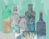 Deconstructed Beach - Bottled Ocean - Multiple Sizes Available