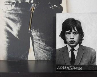 Mick Jagger Lenticular Mug Shot