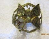 Cute Abalone Butterflies Design Cuff Bracelet