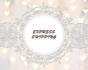 "Express Shipping only ""InessBlissfulArt"" items."