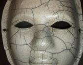 White Raku Mask