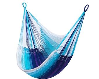 Blue Hanging Chair Hammock - Samui   Free Shipping