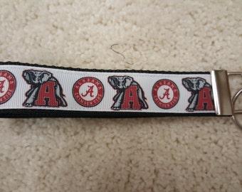 Alabama Crimson Tide Key Fob Wristlet