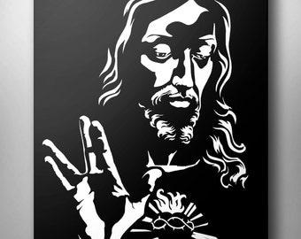 Vulcan Jesus Fine Art Print