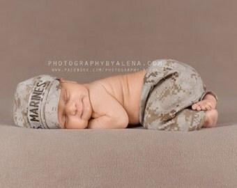 Marine Baby Military SET - Army, Air Force, Navy, MultiCam, Marine, Coast Guard