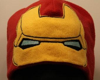Iron Man Cosplay Fleece Hat