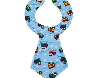 Choo Choo Baby Necktie Bib