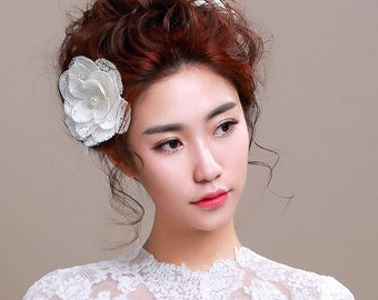 Lace Bridal Hair Pins, Style #254