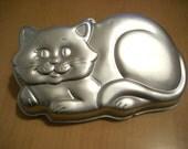 Free shipping Wilton cat cake pan 1987