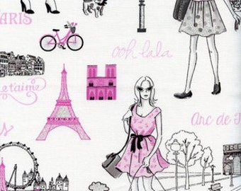 Parisian Ladies from FUN for Timeless Treasures