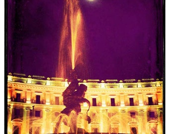 Clearance Sale - Rome photography, Europe art, Italy artwork, Rome fountain, vintage photography, art sale