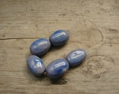 Set of 5 ceramic beads - eco-friendly ceramic beads