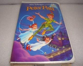 Factory Sealed Walt Disney's Black Diamond Classic Peter Pan VHS Tape