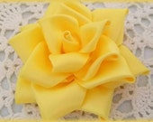 Satin Roses..Satin Rose Clip....Satin Rose Bow...Satin Rose Headband...Satin Bow..Satin Flower Clip...Satin Rose Clip..Satin Flower Headband