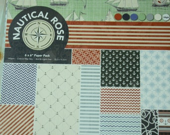 A Set of 24 Sheets Decorative Paper Packs- Anchor