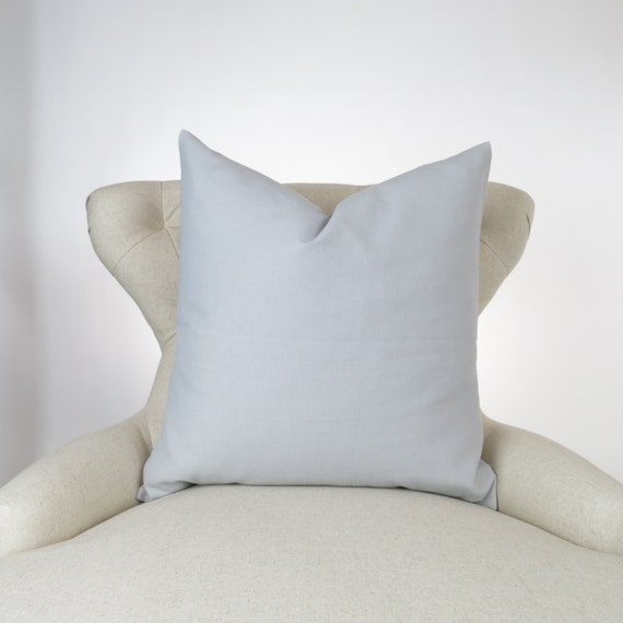Floor Pillows Sizes : Items similar to Solid Gray Pillow Cover -BIG SIZES!- Euro Sham, Floor Cushion, Plain Pillow ...