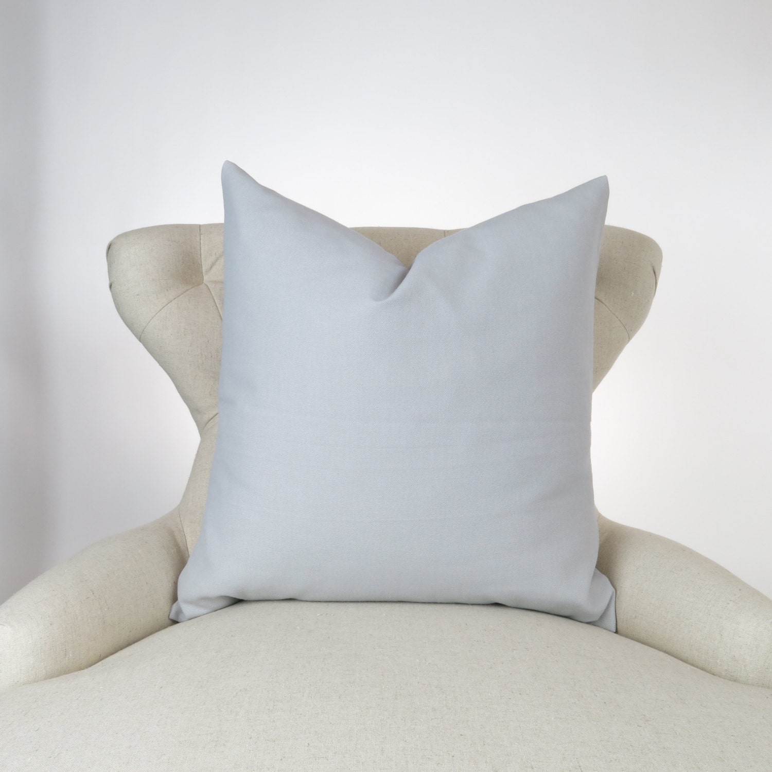 solid gray pillow cover big sizes euro sham floor cushion. Black Bedroom Furniture Sets. Home Design Ideas
