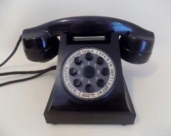 1930s Black BAKELITE ERICSSON Office Telephone