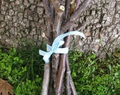 Walnut tree dried bunch bundle, natural tree branches, magical tree sticks