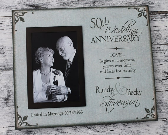 35 Wedding Anniversary Gift For Parents: 50th Wedding Anniversary Picture Frame Wedding Anniversary