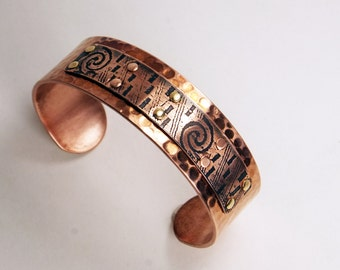 Rustic Copper Cuff