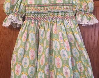Hand-smocked Easter Dress